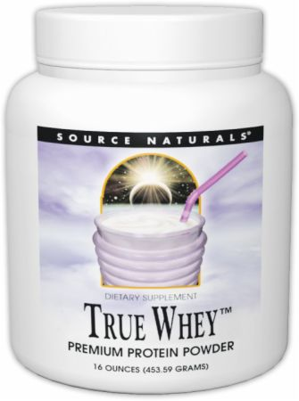 Source Naturals, True Whey, 454 грамма