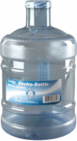 New Wave Enviro, Round Bottle With Handle, 1 галлон