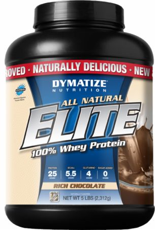 Dymatize, All Natural Elite Whey Protein Isolate, 2268 грамм