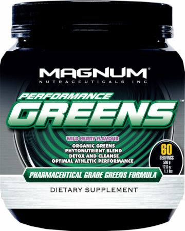 Magnum Nutraceuticals, Performance Greens, 500 грамм