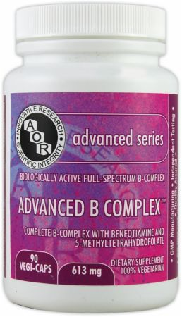 AOR, Advanced B Complex, 90 капсул
