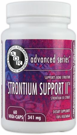 AOR, Strontium Support II, 60 капсул