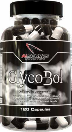 AI Sports Nutrition, Glycobol, 120 капсул