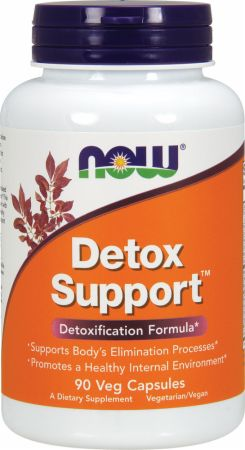 NOW, Detox Support, 90 капсул