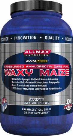 AllMax Nutrition, Waxy Maize 2300, 2000 грамм