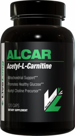 LiveLong Nutrition, Acetyl L-Carnitine, 120 капсул
