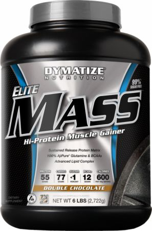 Dymatize, Elite Mass Gainer, 2722 грамма