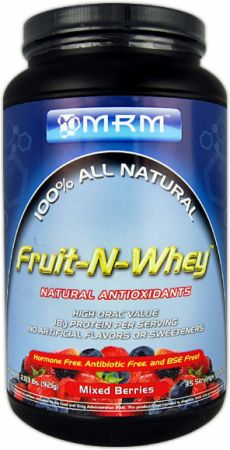 MRM, Fruit-N-Whey, 908 грамм