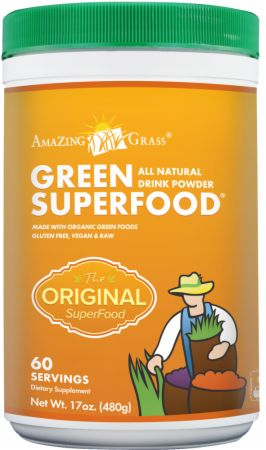 Amazing Grass, Green SuperFood Powder, 30 порций