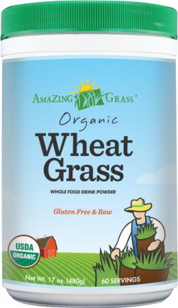 Amazing Grass, Wheat Grass, 60 порций
