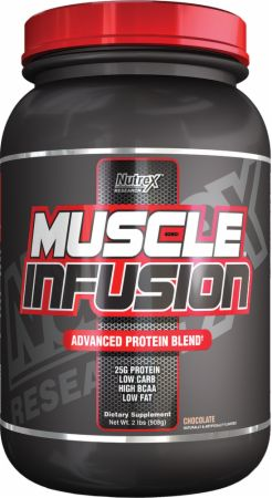 Nutrex, Muscle Infusion Black, 908 грамм