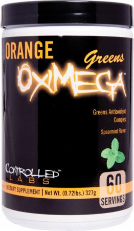 Controlled Labs, Orange OxiMega Greens, 60 порций
