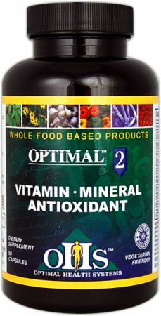 Optimal Health Systems, Vitamin-Mineral-Antioxidant, 90 капсул