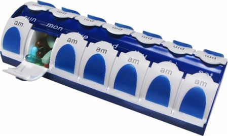 VitaMinder, Fit & Healthy 7 Day AM/PM Pill Organizer