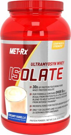 Met-Rx, Ultramyosyn Whey Isolate, 908 грамм