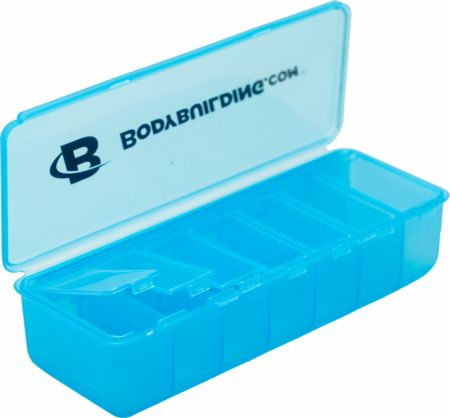 Bodybuilding.com Accessories, Deep Pocket Pill Organizer