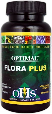 Optimal Health Systems, Flora Plus, 90 капсул