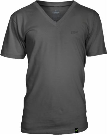 MusclePharm Sportswear, Embroidered V-Neck Tee