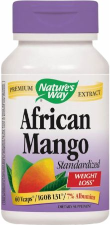 Nature's Way, African Mango, 60 капсул