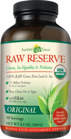 Amazing Grass, Green SuperFood Raw Reserve, 30 порций