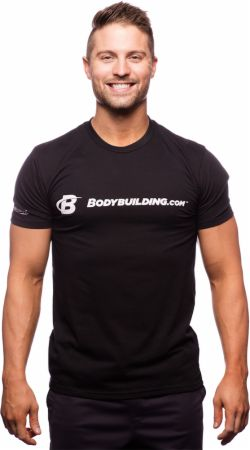 Bodybuilding.com Clothing, Classic Fitted Logo T-Shirt