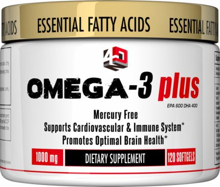 4 Dimension Nutrition, Omega-3 Plus, 120 капсул