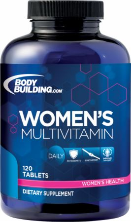 Bodybuilding.com Foundation Series, Women's Multivitamin, 120 таблеток