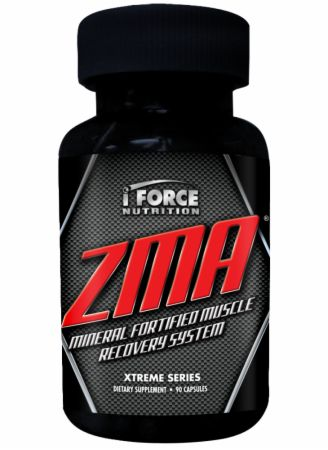 iForce Nutrition, ZMA, 90 капсул
