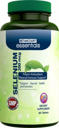 Betancourt Nutrition, Essentials Selenium, 60 таблеток
