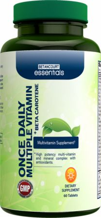 Betancourt Nutrition, Essentials Once Daily Multiple Vitamin, 60 таблеток