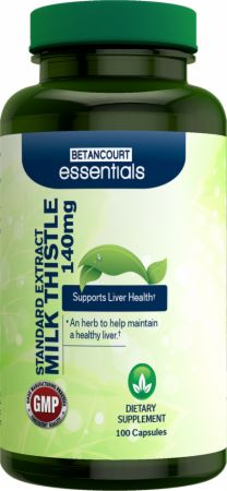 Betancourt Nutrition, Essentials Milk Thistle, 100 капсул