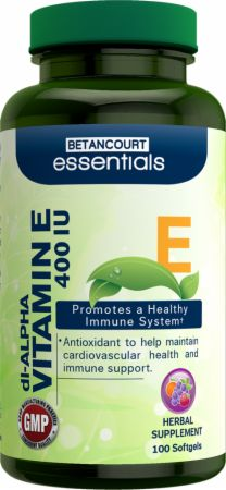 Betancourt Nutrition, Essentials Vitamin E, 100 капсул