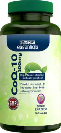 Betancourt Nutrition, Essentials CoQ10, 90 капсул
