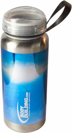 Bodybuilding.com Accessories, Polar Bottle Half-Twist Stainless Steel Water Bottle