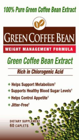 Windmill Health Products, Green Coffee Bean, 60 таблеток