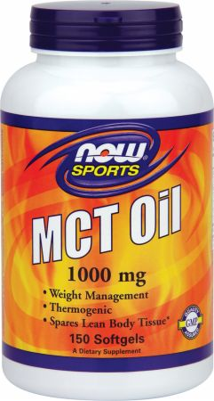 NOW, MCT Oil Softgels, 150 капсул