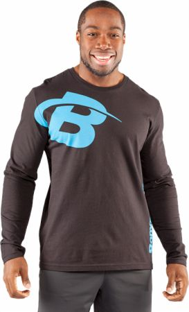 Bodybuilding.com Clothing, Core B Swoosh Long Sleeve Tee