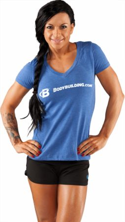 Bodybuilding.com Clothing, Women's Core Simple Classic Deep-V Tee