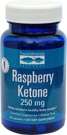Trace Minerals, Raspberry Ketone, 30 капсул