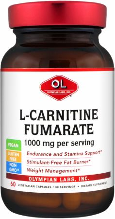 Olympian Labs, L-Carnitine, 60  капсул