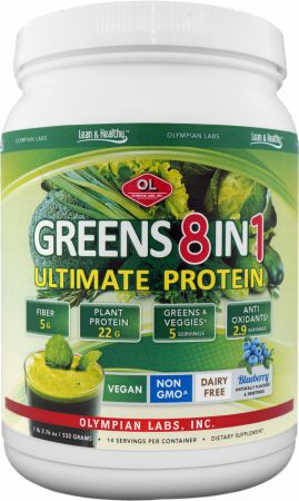 Olympian Labs, Ultimate Greens 8 in 1, 546 грамм