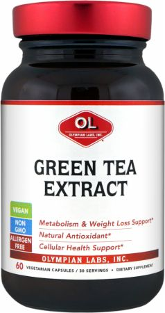 Olympian Labs, Green Tea Extract, 60 капсул