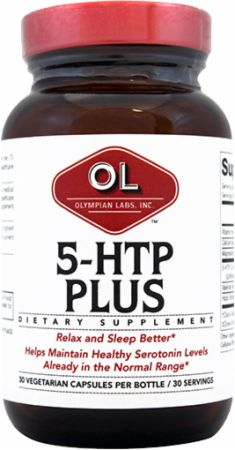 Olympian Labs, 5-HTP Plus, 30 капсул