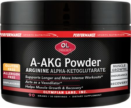 Olympian Labs, A-AKG Powder, 90 грамм
