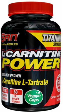S.A.N., L-CARNITINE POWER, 60  капсул