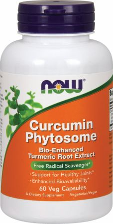 NOW, Bio-Curcumin Phytosome, 60 капсул