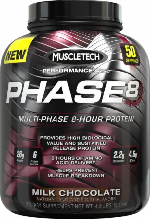 MuscleTech, Phase8, 4536 грамм