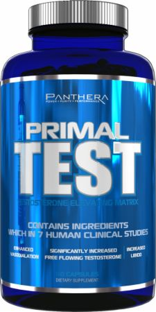Panthera Pharma, Primal Test, 60 капсул