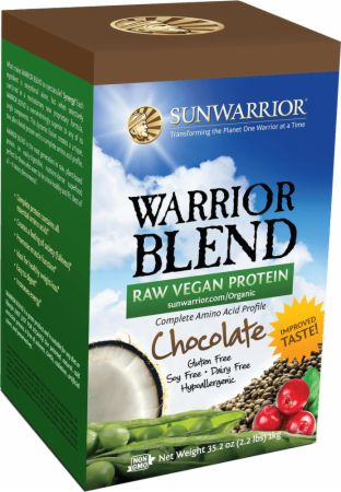 Sun Warrior, Warrior Blend Raw Protein, 998 грамм