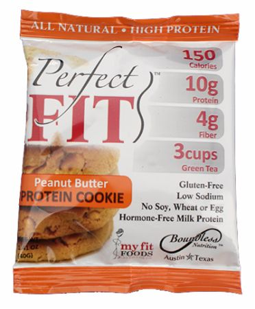 Boundless Nutrition, Perfect FIT Protein Cookie, 12шт - 40гр. Печенье